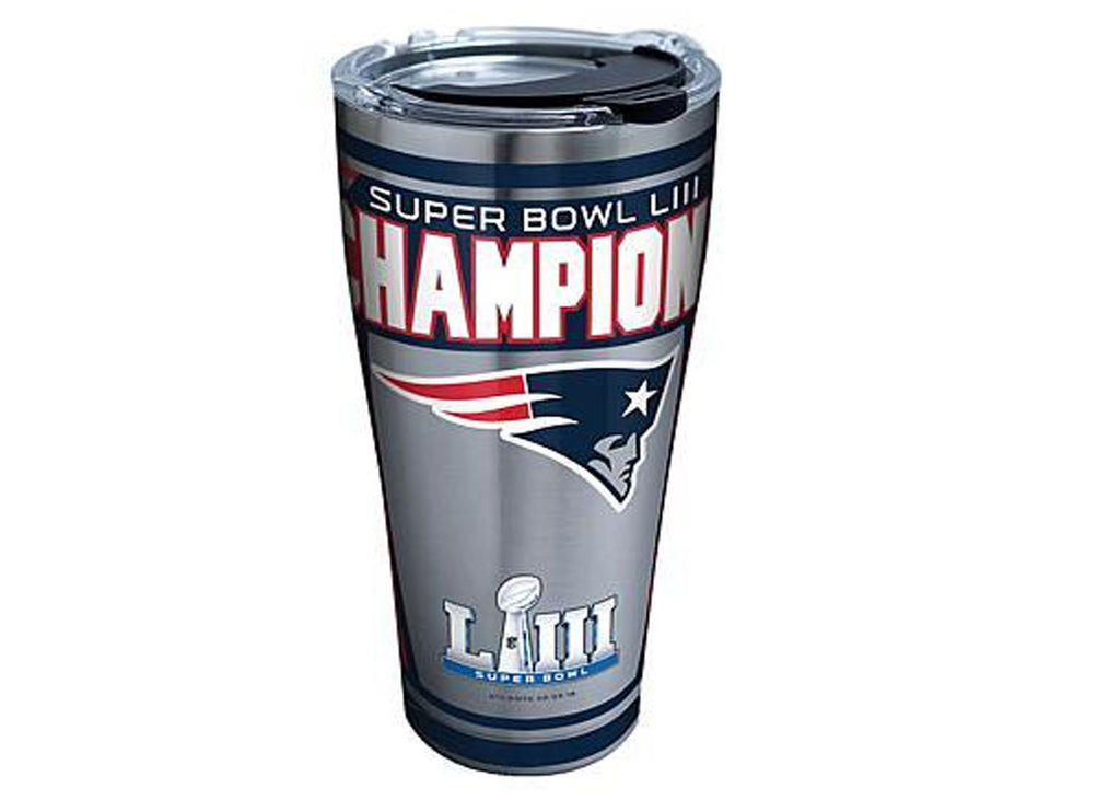 Tervis Stainless Steel Tumbler, NFL® New England Patriots Super Bowl 53 Champions - AtlanticCoastSports