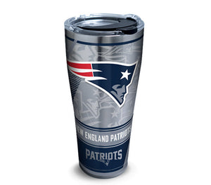 Tervis NFL® New England Patriots Edge Stainless Steel With Hammer Lid - AtlanticCoastSports
