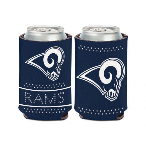 Los Angeles Rams Bling Can Cooler 12 OZ. - AtlanticCoastSports