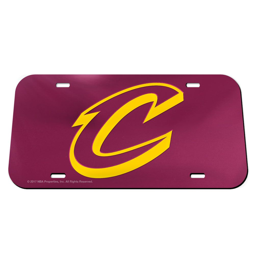 Cleveland Cavilers Classic Acrylic License Plate