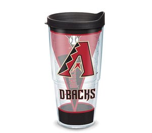 Tervis MLB® Arizona Diamondbacks™ Batter Up Wrap With Travel Lid - AtlanticCoastSports