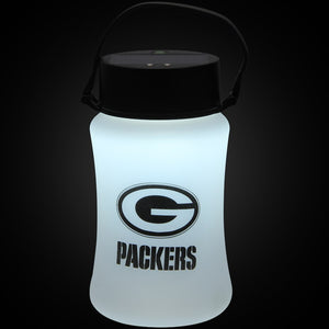 Green Bay Packers Frosted Silicone Solar Lantern - AtlanticCoastSports