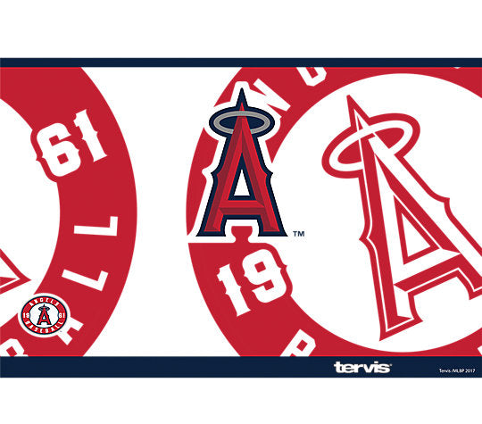 Tervis MLB® Angels™ Genuine Stainless Steel With Hammer Lid - AtlanticCoastSports