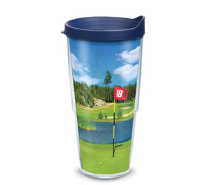Tervis Golf Course Scene Wrap With Travel Lid