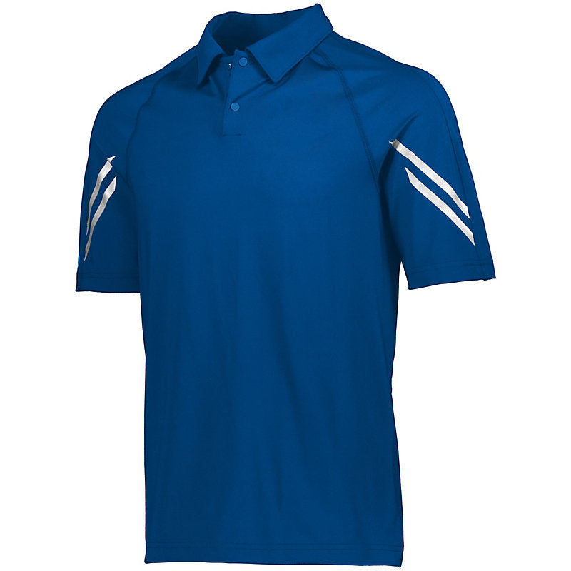 Holloway Polyester Polo Embroidery Available 13 Color Options - AtlanticCoastSports