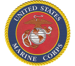 Marines Classic Seal Flex Emblem With Travel Lid - AtlanticCoastSports