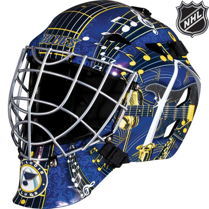 St. Louis Blues Franklin GFM 1500: NHL® Team Goalie  Helmet