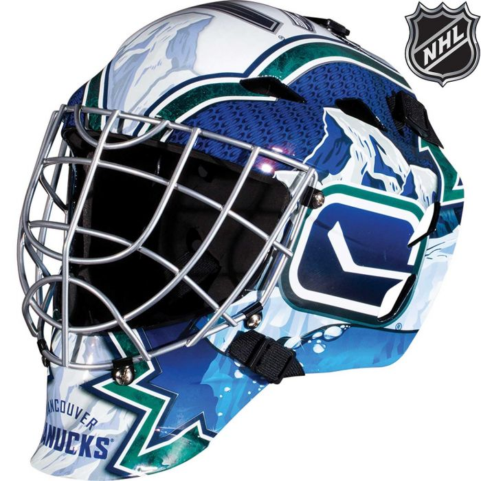 Vancouver Canucks Franklin GFM 1500: NHL® Team Goalie  Helmet
