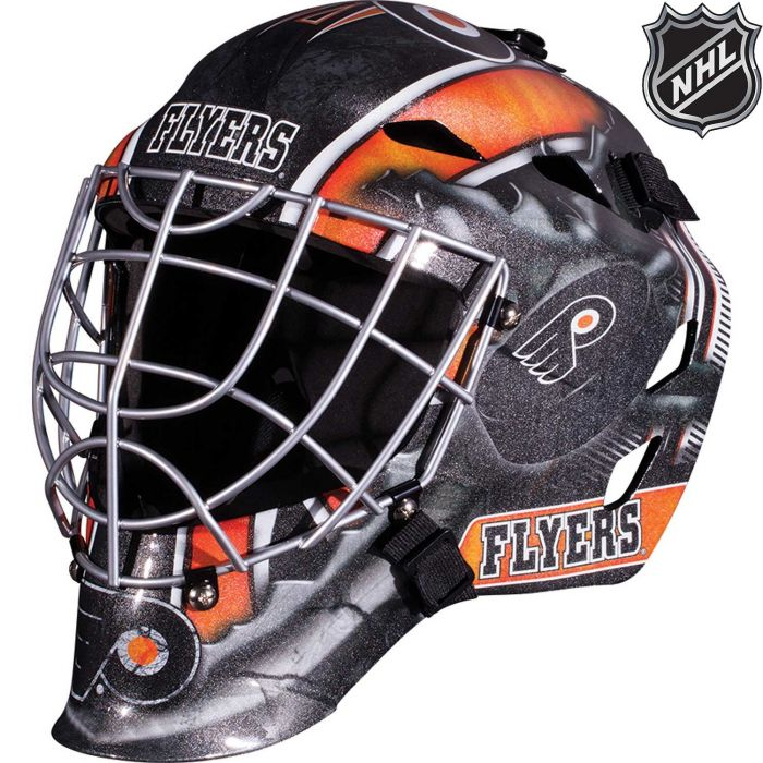 Philadelphia Flyers  Franklin GFM 1500: NHL® Team Goalie  Helmet