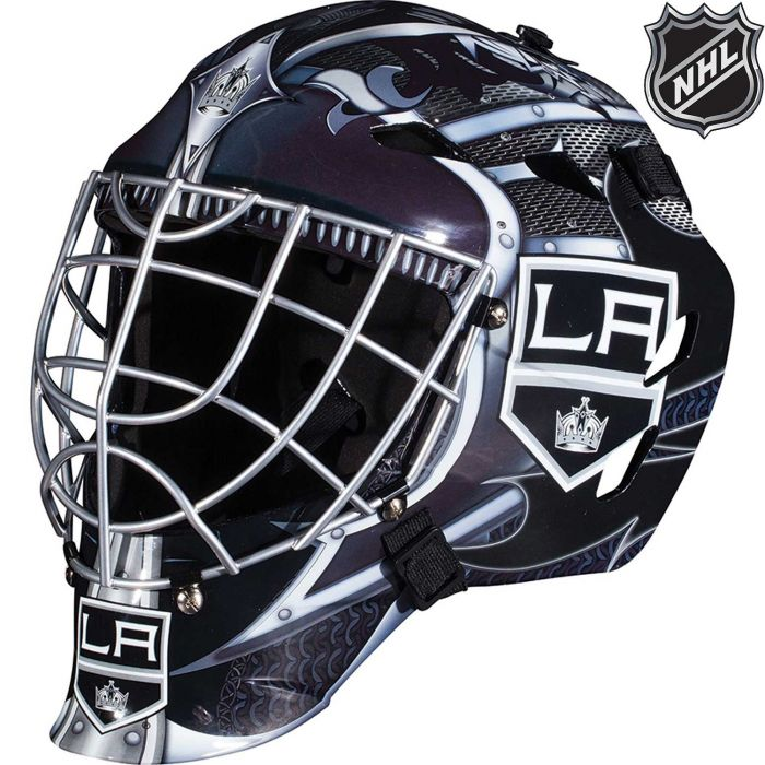 Los Angeles Kings  Franklin GFM 1500: NHL® Team Goalie  Helmet