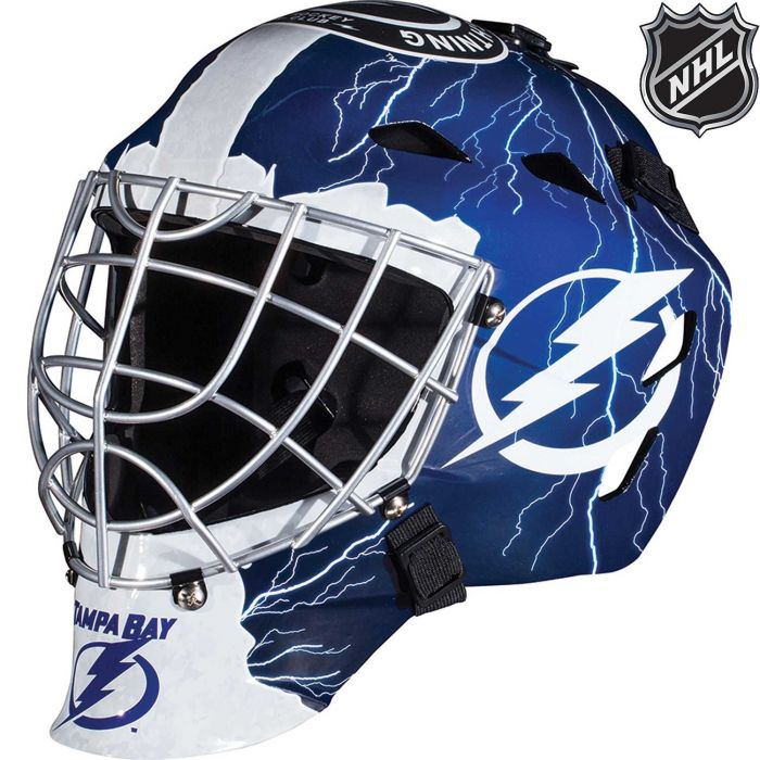 Tampa Bay Lightning Franklin GFM 1500: NHL® Team Goalie  Helmet