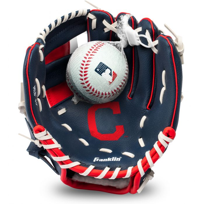 Cleveland Indians MLB® Team Glove and Ball Set