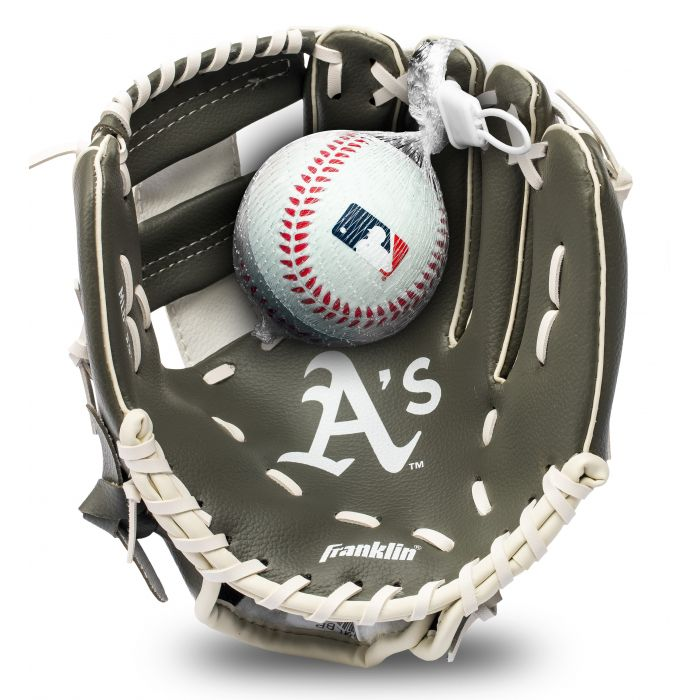 Oakland A's MLB® Team Glove and Ball Set