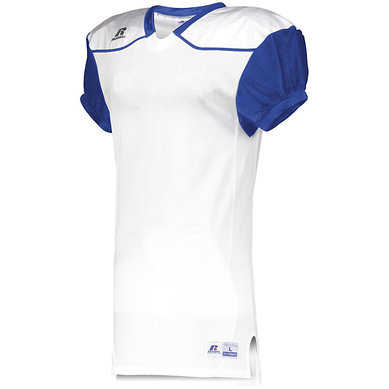 Russell Color Block Game Jersey (away) 7 colors available blank or decorated - AtlanticCoastSports