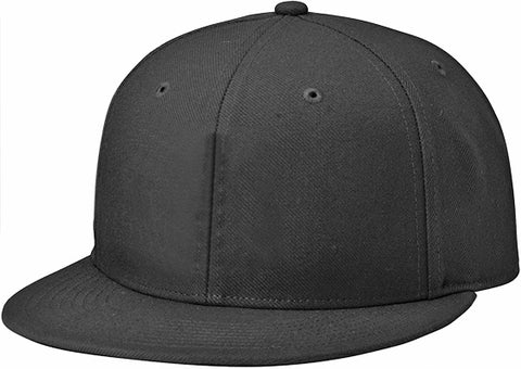 de25ddc2b35 Richardson PTS65 Surge Fitted Custom Baseball Cap BLACK Embroidery Available