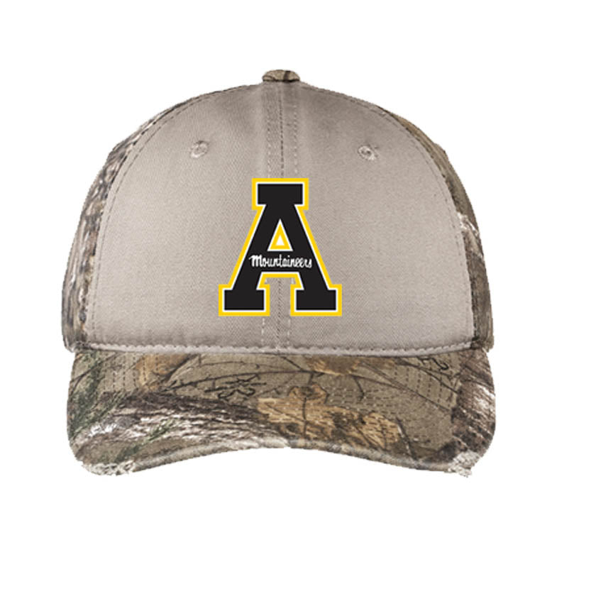 Appalachian State Port Authority® Camo Cap - AtlanticCoastSports