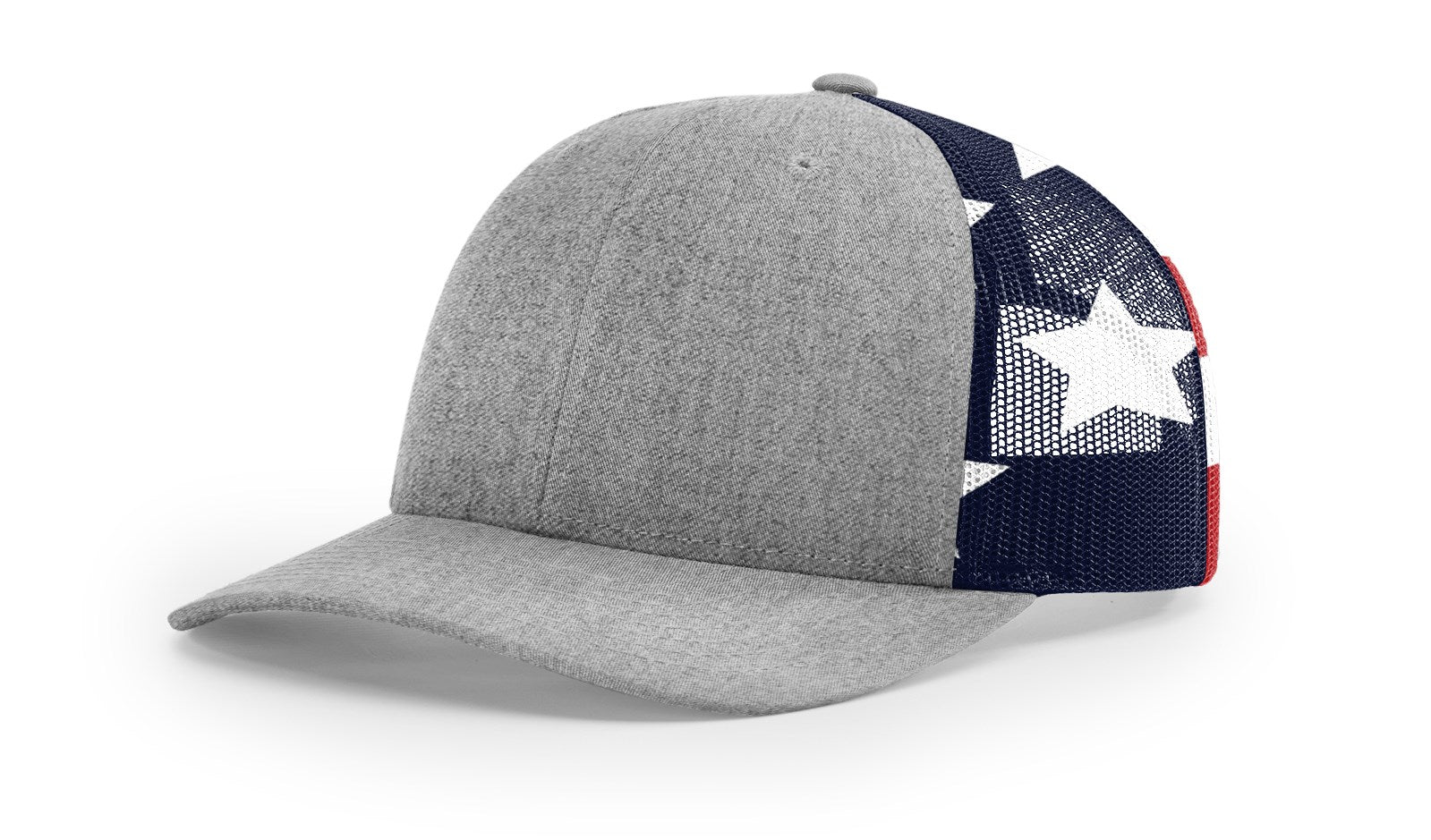 Richardson 112PM Printed Mesh Trucker 8 colors (embroidery available