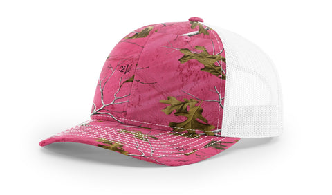 Richardson 112P Printed Trucker Snap Back 50 Colors (embroidery available)