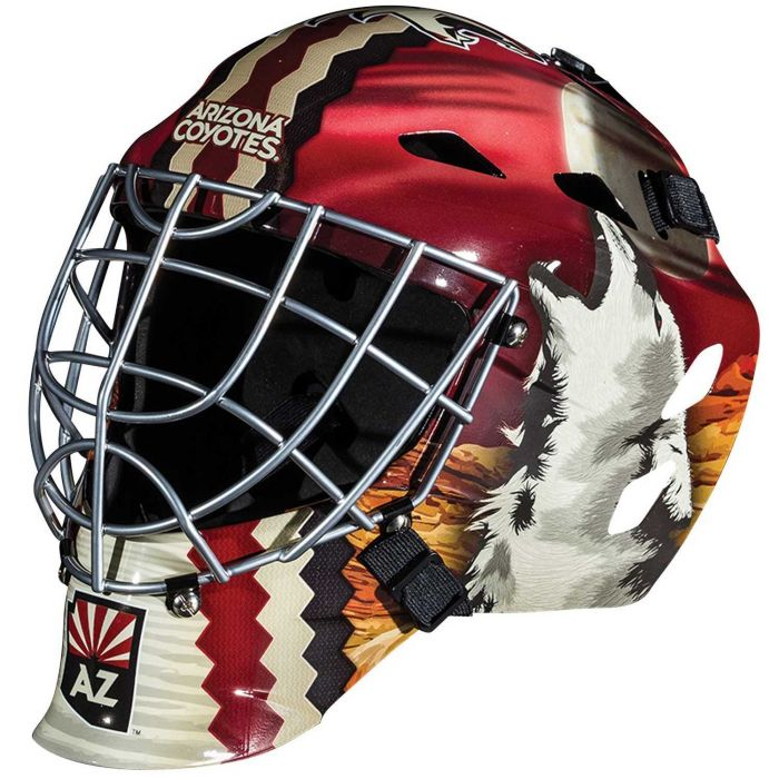 Phoenix Coyotes  Franklin GFM 1500: NHL® Team Goalie  Helmet