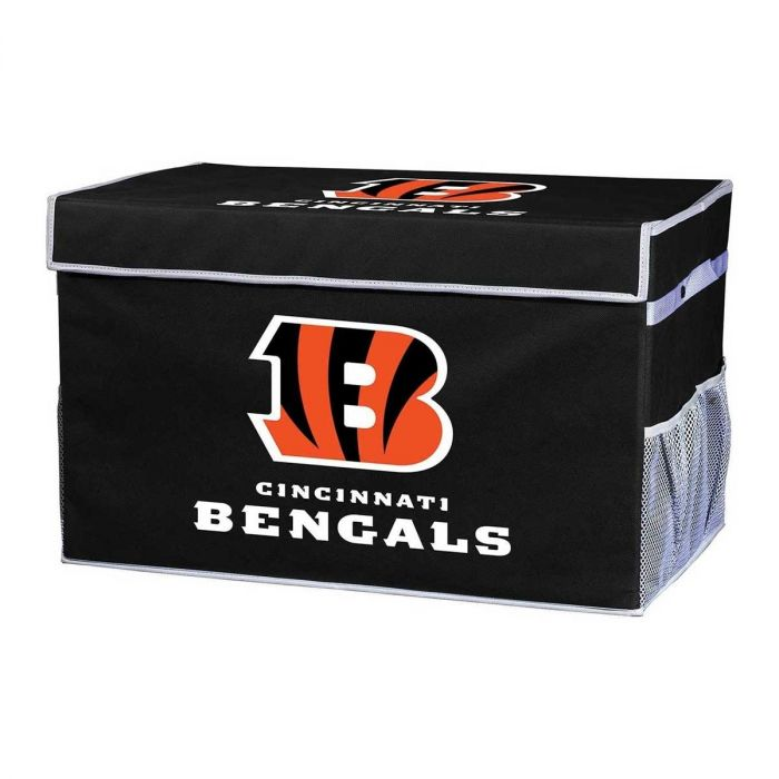 Cincinnati Bengal's NFL® Collapsible Storage Footlocker Bins
