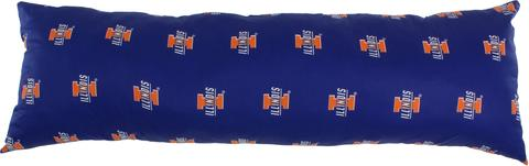 NCAA Illinois Fighting Illini Printed Body Pillow