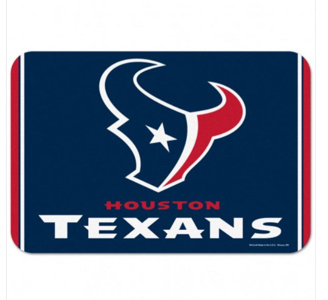 "Houston Texans Door Mat 20"" X 30"""