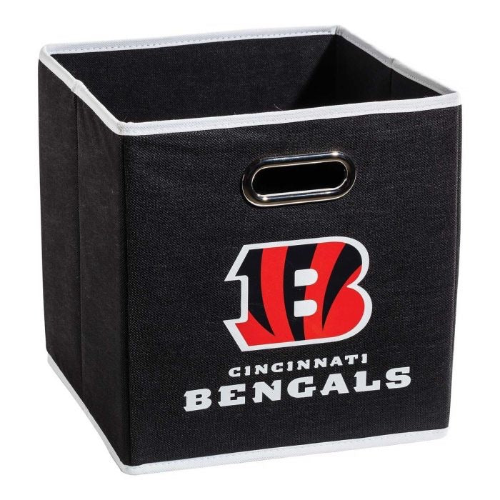 Cincinatti Bengals NFL® Collapsible Storage Bins