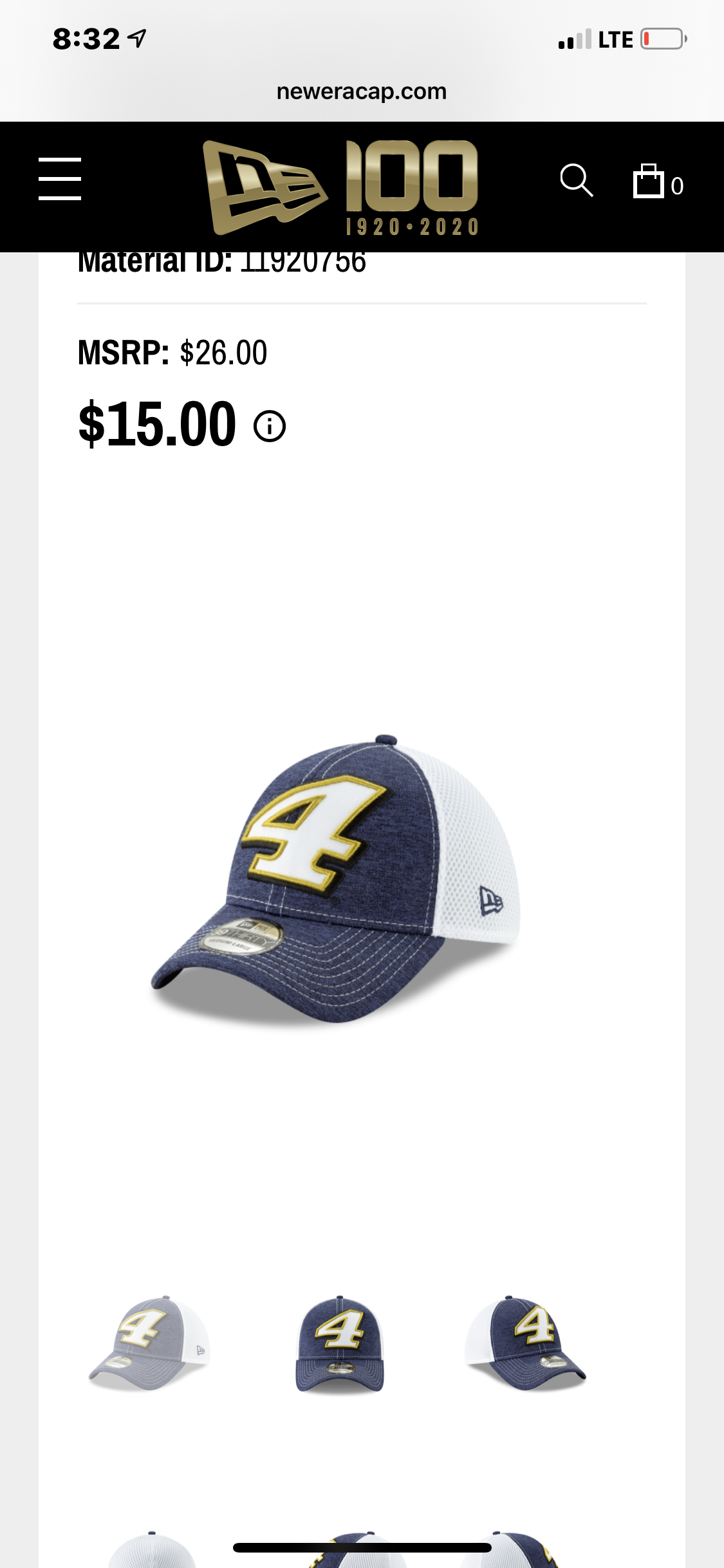 Kevin Harvick New Era Neo Stretch Fit Hat