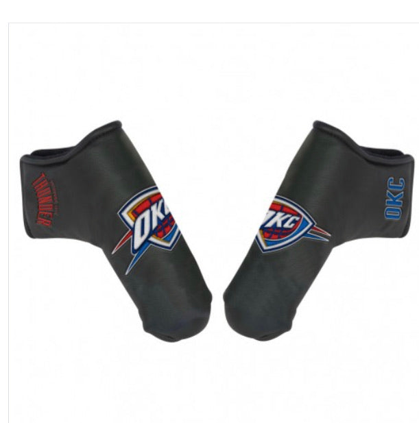 Oklahoma City Thunder Golf Putter Blade Head Cover