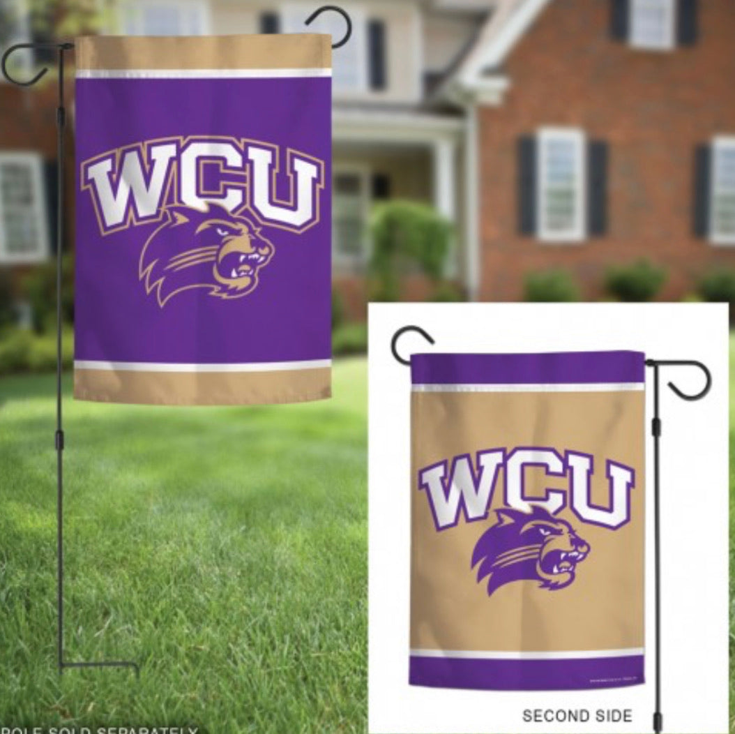 "Western Carolina 2 Sided Garden Flag 12.5"" X 18"""