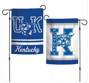 "Kentucky Wildcats Garden Flag 2 Sided 12.5"" X 18"""