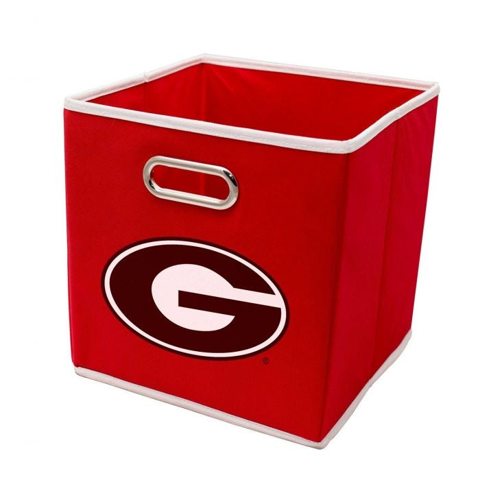 Georgia Bulldogs Collapsible Storage Bins