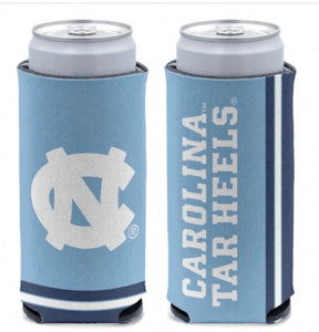 NORTH CAROLINA, UNIVERSITY OF 12 OZ SLIM CAN COOLER - AtlanticCoastSports