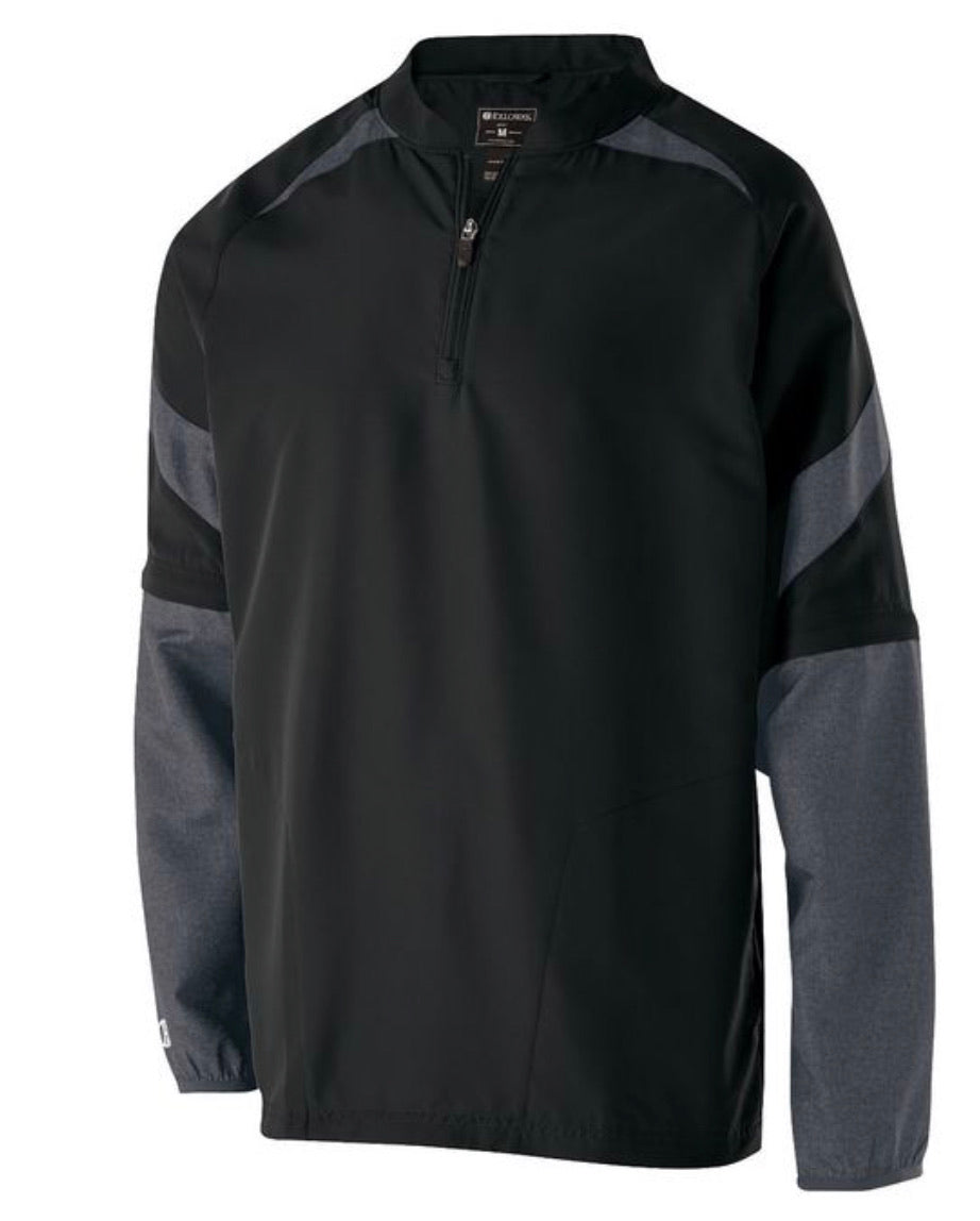 Holloway Pitch Pullover w/h Zip Off Sleeves (blank) or Embroidered w/h your logo - AtlanticCoastSports