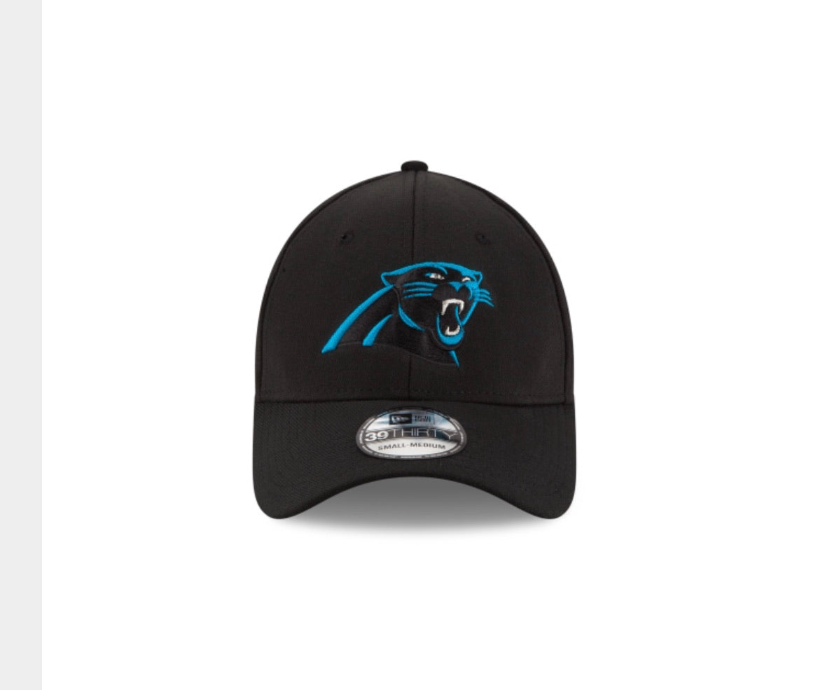 Carolina Panthers New Era Team Classic Black Hat - AtlanticCoastSports