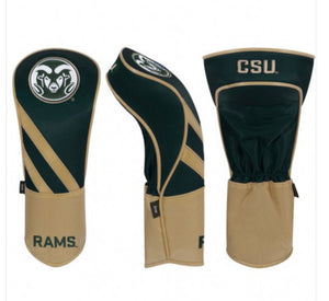 Colorado State Rams Golf Driver Cover