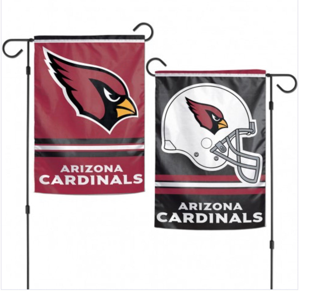 "Arizona Cardinals 2 Sided Garden Flag 12.5"" X 18"""