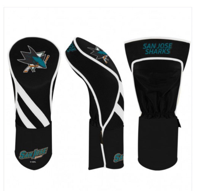 San Jose Sharks Golf Driver Cover