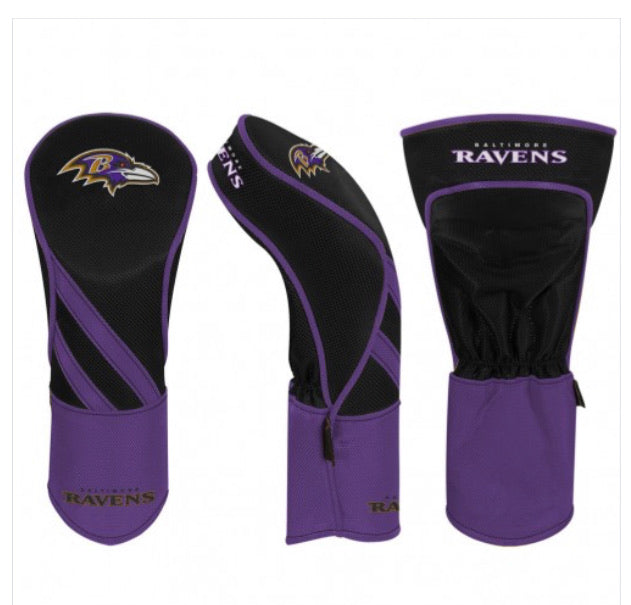 Baltimore Ravens Golf Driver Headcover