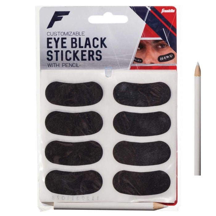 EYE Black Stickers with Pen