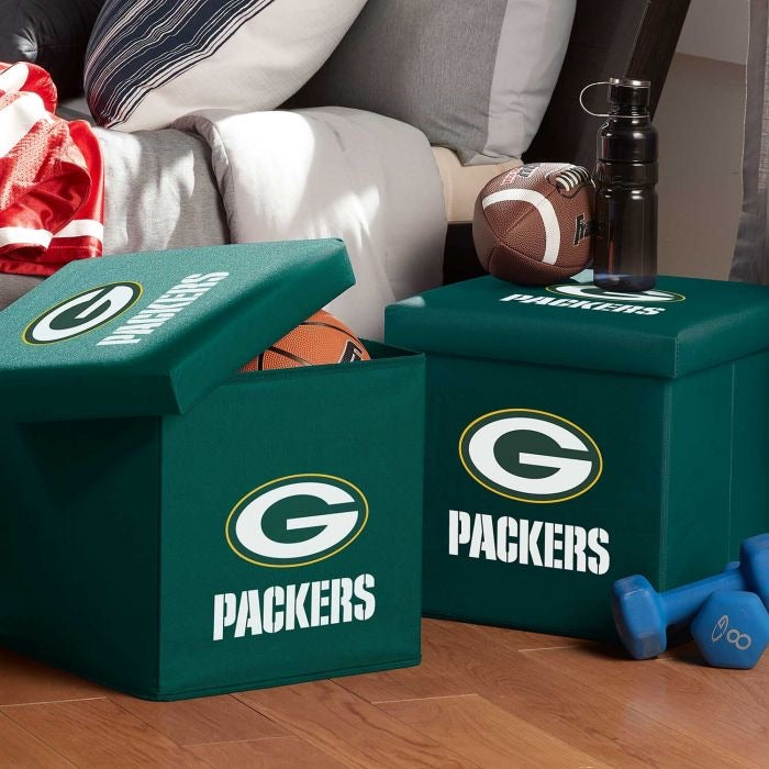 Green Bay Packers  NFL® Storage Ottoman