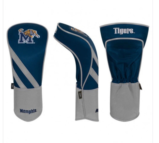 Memphis Tigers Golf Driver Cover