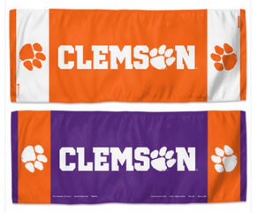 "Clemson Tigers Cooling Towel 12""X30"""