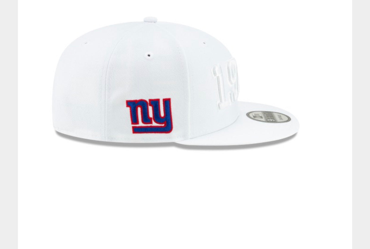 New York Giants white 1925 hat - AtlanticCoastSports