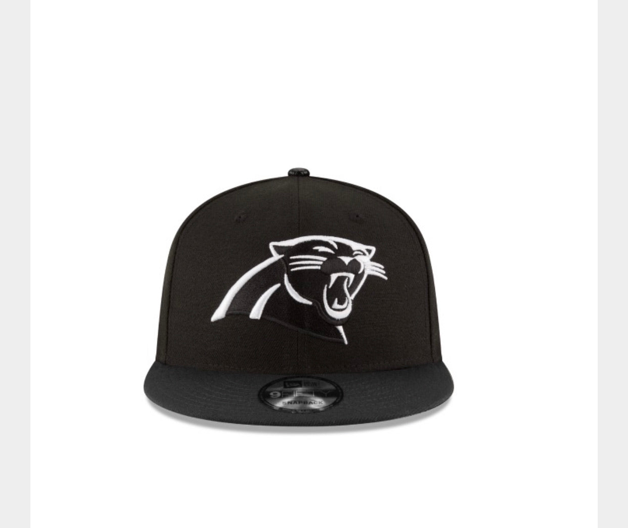 Carolina Panthers New Era 950 Basic Snap Back Hat - AtlanticCoastSports