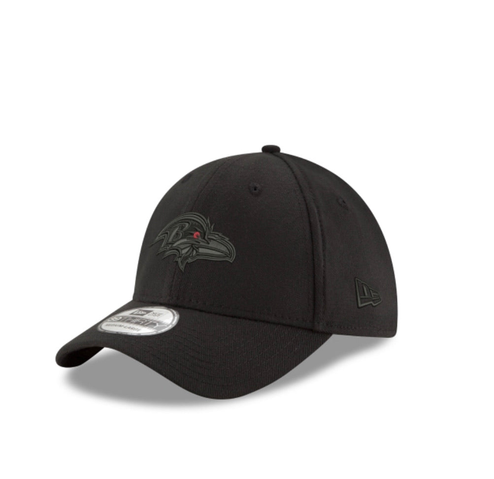 Baltimore Ravens New Era Black Tonal Hat