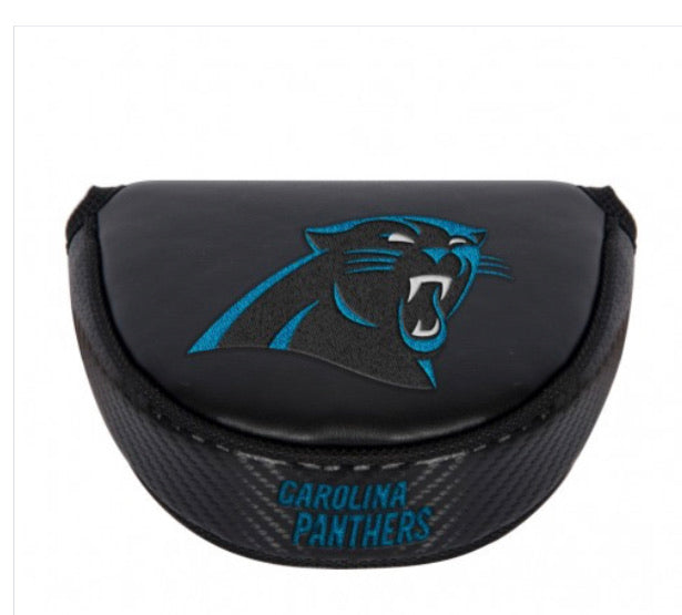Carolina Panthers Golf Putter Mallet Head Cover