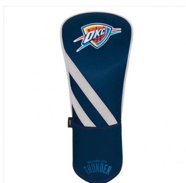 Oklahoma City Thunder Golf Driver Head Cover
