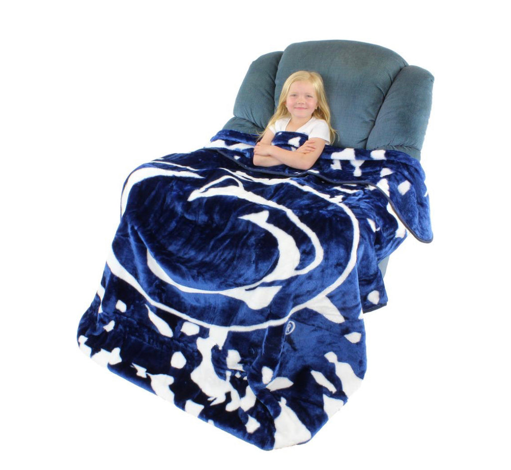 NCAA Penn State Nittany Lions Huge Raschel Throw Blanket