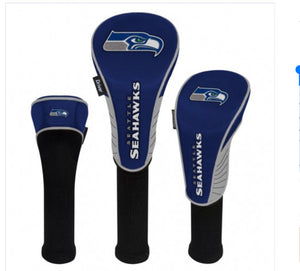 Seattle Seahawks Set of 3 Headcovers